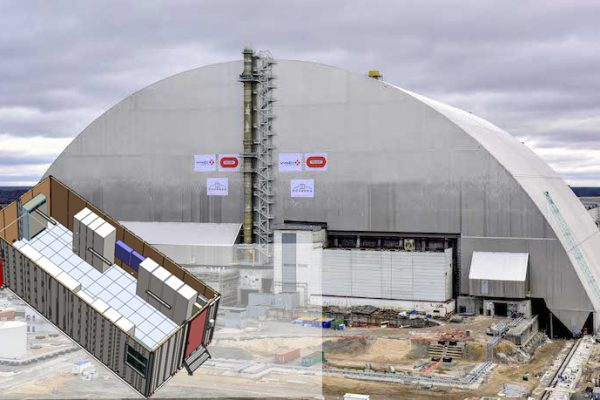 Tchernobyl montage Novarka
